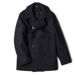 "BUZZ RICKSON'S Pea Coat ""Navy"""