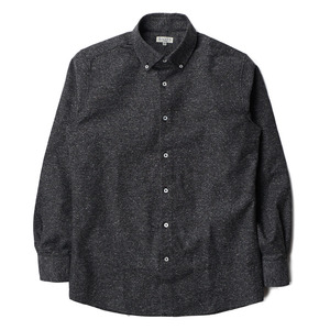 "BANTS Jazznep Oxford Medium Spread Collar Shirt ""Grey"""