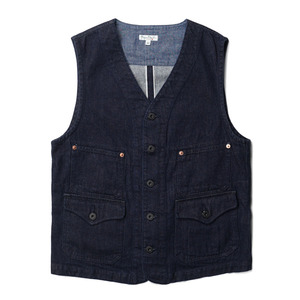 "BP16903 Work Vest ""Denim"""