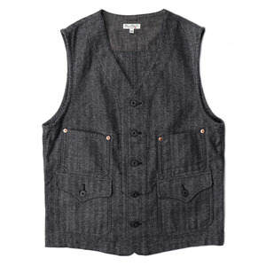 "BP16903 Work Vest ""Heather Grey"""