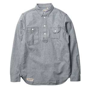 "Gooseberry Lay & Co. Charlie Pullover Shirts ""Salt & Pepper"""