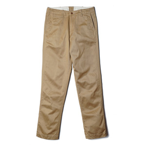 "Zip fly Military Chino Trousers 402-60 ""Khaki"""