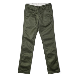 "BURGUS PLUS Lot 401 High Quality Modern Chino's ""Olive"""