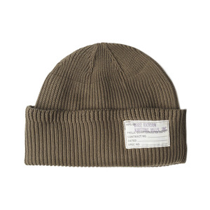"BUZZ RICKSON'S BR02186 Watch Cap ""149 Olive"""