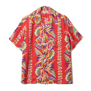 "SS37468 Natural Rayon S/S Shirt ""165 Red"""