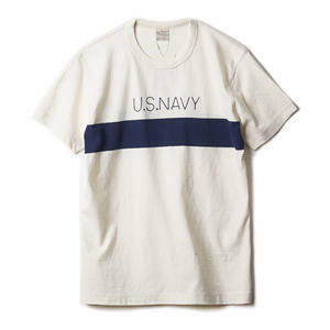 "BR77612 U.S. Navy Blanket Tee ""109 Natural"""