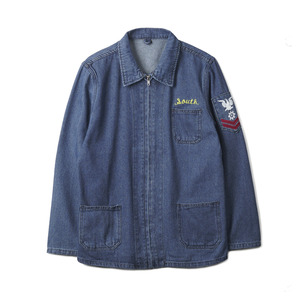 YMCL KY Denim Jacket Souvenir With Emblem Souvenir