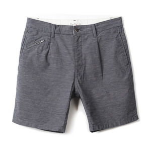 "BP16303 Drawcord Military Shorts ""Indigo Stripe"""