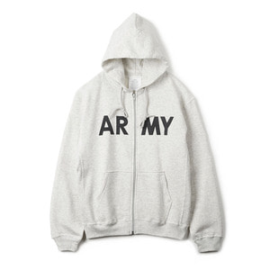 YMCL KY US Type ARMY Zip-Up Sweater