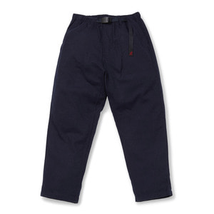 "GRAMICCI Wool Loose Tapered Pants ""Double Navy"""