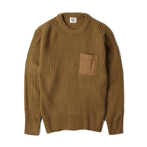 YMCL KY US Type Commando Sweater with Pocket 'Coyote'