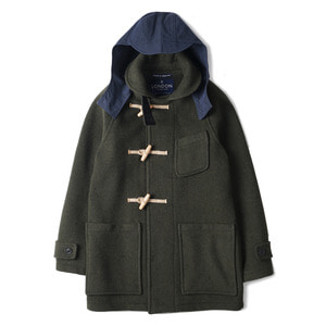"Sailor Collar Long Duffle Coat LT/01 ""Loden"""