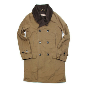 "Shawl Collar Mackinaw Coat ""Beige"""