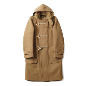 "BUZZ RICKSON'S 34oz Melton Wool Duffle Coat ""Camel"""