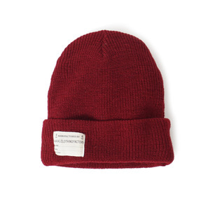 "YMCL KY USN Wool Watch Cap ""Burgundy"""
