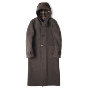 "R004 Long Duffle Coat LT01 ""Nutmeg 100"""