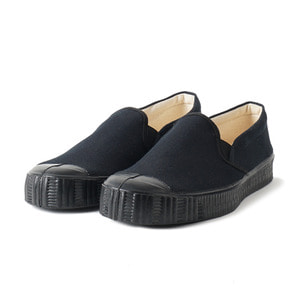 Army Slipon Black Canvas/Black