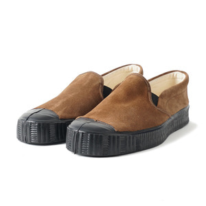 Army Slipon Brown Suade/Black