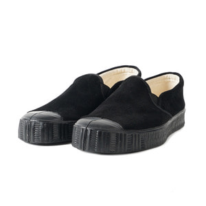 Army Slipon Black Suade/Black