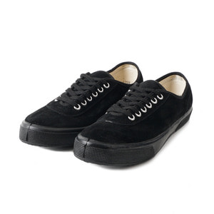 Lace Low cut Black Suade/Black