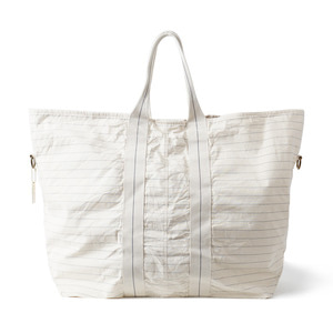 "BURGUS PLUS《raregem》Collaboration Bag Crew Pack ""Natural"""