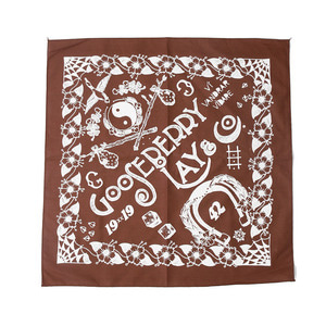 "Gooseberry Lay & Co. Bandana ""Brown"""