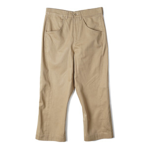 "OOPARTS OPT18SSPT01BE Engineered Cropped Pants ""Beige"""