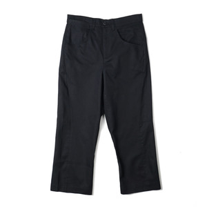 "OOPARTS OPT18SSPT01BK Engineered Cropped Pants ""Black"""