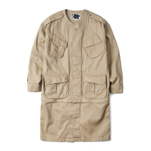 "OOPARTS OPT18SSJK01BE Combat Tropical Jacket ""Beige"""
