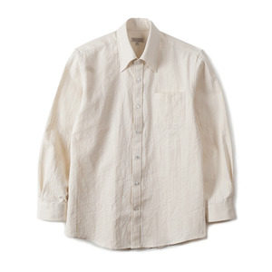 "BANTS GTB Crinkle Oxford Cotton B.D Shirt ""Ecru"""