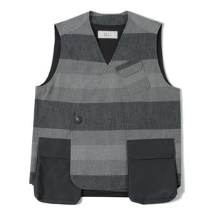 "SHIRTER Air Pocket Double Vest ""Grey"""