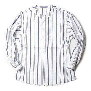 "BEHEAVYER Baseball Shirt ""White Stripe"""