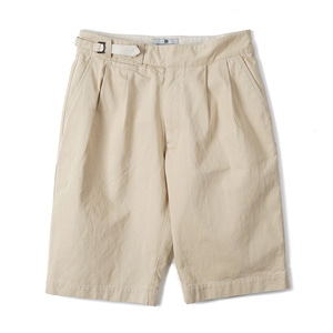 "BEHEAVYER Summer Half Pants ""Beige"""