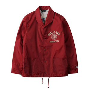 "CHAMPION Rochester Nylon Shawl Collar Jacket C3-F601 ""Red (109)"""