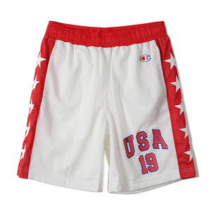 "CHAMPION Action Style Hockey Mesh Short Pants C3-F521 ""White (010)"