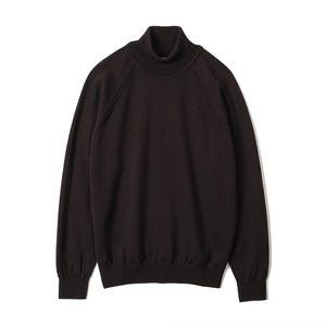 "BANTS BTS Merino Wool Raglan Turtleneck Knit ""Brown"""
