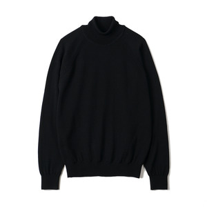 "BANTS BTS Merino Wool Raglan Turtleneck Knit ""Black"""