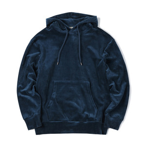 "SHIRTER Velour Sweat Parka ""Blue"""