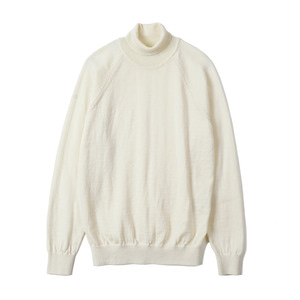 "BANTS BTS Merino Wool Raglan Turtleneck Knit ""Ivory"""