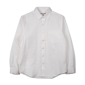 "NOCLAIM Standard fit Oxford Shirts ""Off White"""