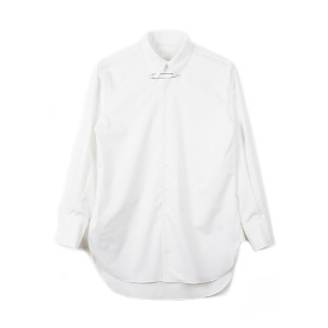 "OOPARTS OPT18FWSH01WH Pin-detail Shirt ""White"""