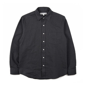 "NOCLAIM Standard fit Oxford Shirts ""Charcoal"""