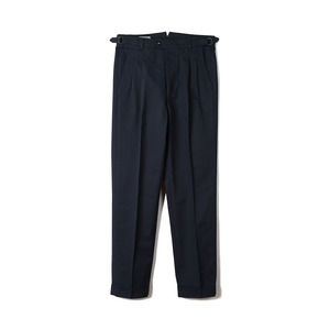 "BANTS BTS Cotton Two-tuck Pants ""Navy"""