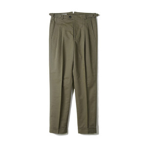"BANTS BTS Cotton Two-tuck Pants ""Olive Drab"""