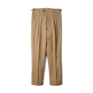 "BANTS BTS Cotton Two-tuck Pants ""Khaki"""