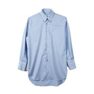 "OOPARTS OPT18FWSH01BL Pin-detail Shirt ""Blue"""