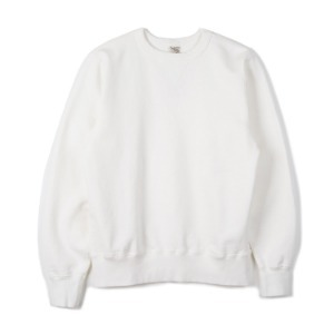 "BUZZ RICKSON'S BR65622 Set-In Crew Sweat ""White"""