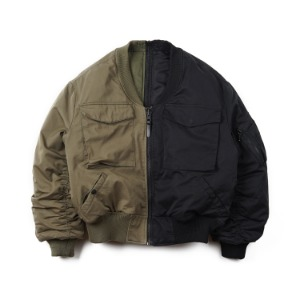"OOPARTS OPT18FWJK04AS Reversible MA-1 Jacket ""Mix"""