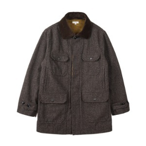 "BURGUS PLUS Wool Hunting Coat ""Brown"""