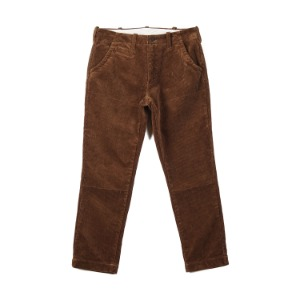 "BURGUS PLUS Original Wide Wale Corduroy Trouser ""Brown"""